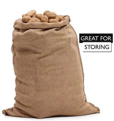 Burlap Bags Wholesale Bulk (50) 24 x 40  - Sacks Potato Race Sandbags Home Depot