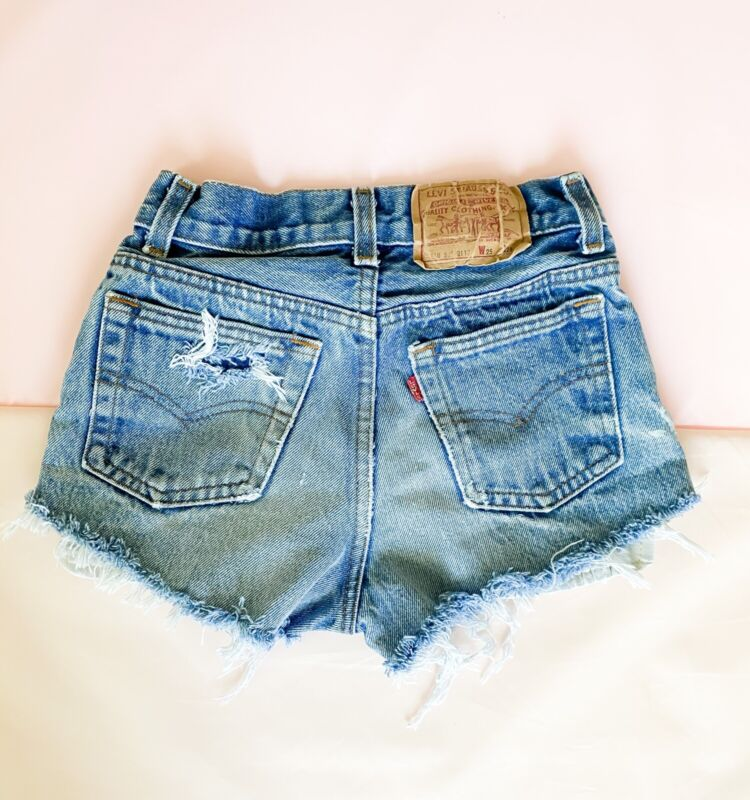 Kids Vintage Levi Shorts