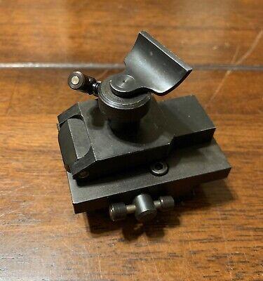 Emco Unimat 3 4 Lathe Watchmakers Flip Over Tool Rest