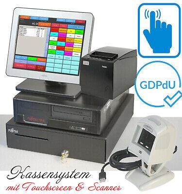 Cash Register System Till Touchscreen Bonprinter F Retail Dner Pizzeria Ka18
