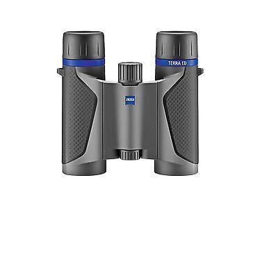 Zeiss Terra ED Pocket 10x25 Fernglas schwarz/grau