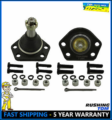 Set of 2 Upper Ball Joint 4WD 4x4 Pair For Chevy Pickup Truck Bravada S10 S15