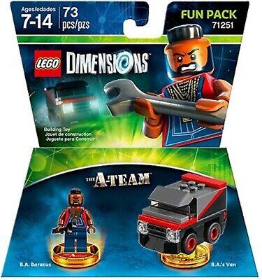 Lego Dimensions A-Team Fun Pack 71251 Original UK Release