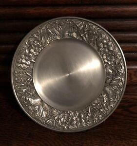 """Pewter Plate - 8"""" round"""