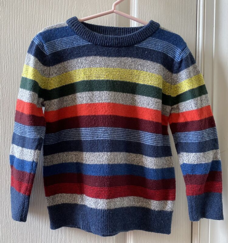 Baby Gap Boys  4T Colorful Knit Sweater For Fall Or Winter  EUC