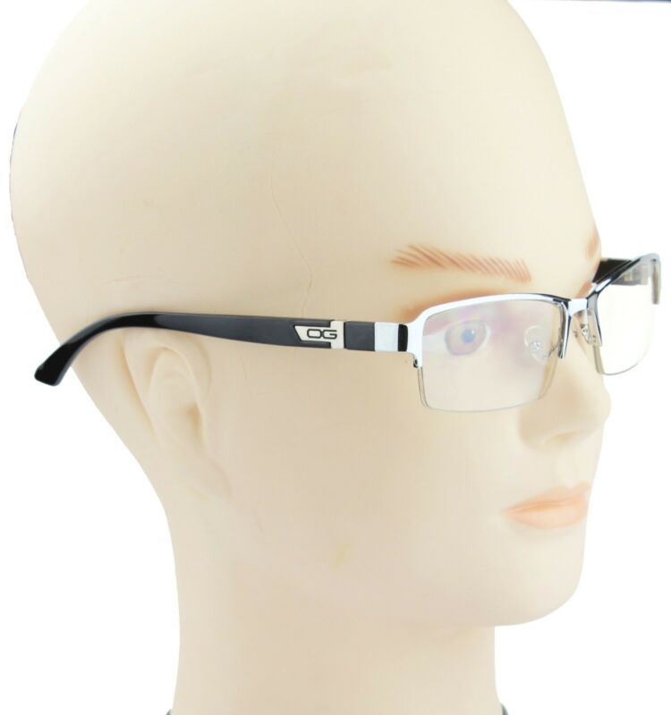 d6578a10a9e6 ... Half Rim Men Women DG Eyewear Clear Lens Frame Eye Glasses Designer  Fashion Nerd ...