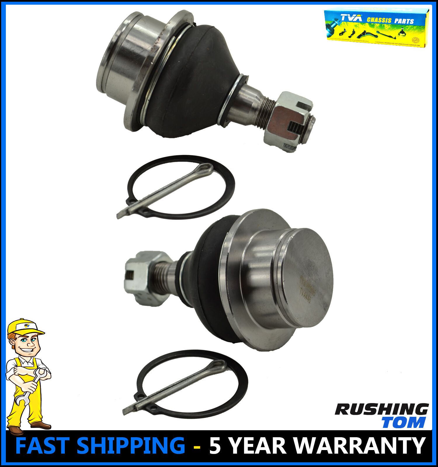 Set of 2 Front Lower Ball Joint Pair For Ford Explorer F-150 Expedition Ranger