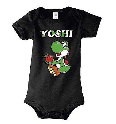 TRVPPY Baby Body Strampler Yoshi Mario Luigi Peach Nostalgic Kinder Shirt