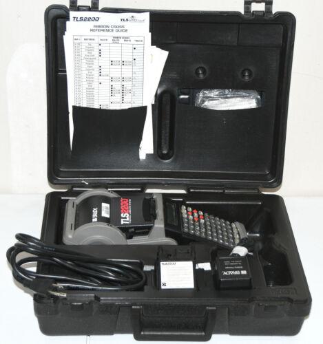 Brady TLS2200 Portable Label Maker Printer TLS 2200