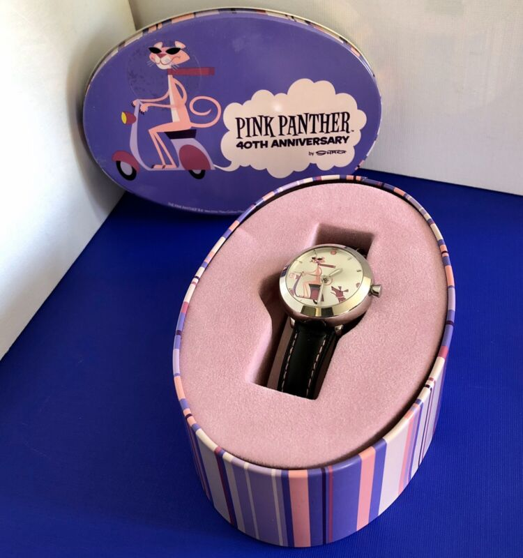 Pink Panther 40th Anniversary Watch Collectors Edition Women