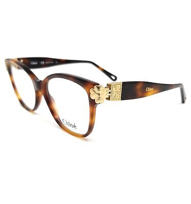 CHLOE Eyeglasses CE2738 218 Havana Rectangle Women 53x18x140