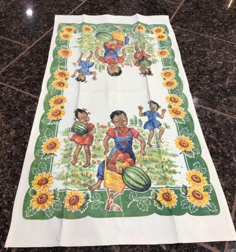 Black Americana Memorabilia Ethnic Collectibles Kitchen Décor  Kids In Garden