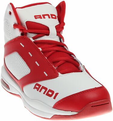 AND1 Typhoon Mid Sneakers - Red;White -