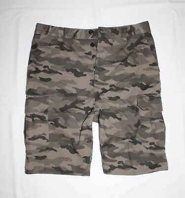 H&M Men Button Fly Classic fit Cargo shorts size 30 , 32 ,34 , 36 new with tag