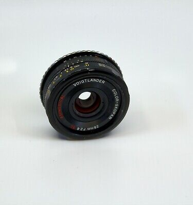 Voigtlander 28mm F/2.8 SL Aspherical For Nikon w/ FREE Canon EOS Adapter Ring