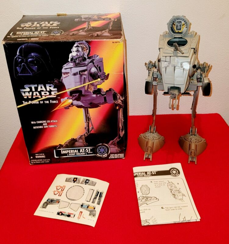 Star Wars Imperial AT-ST Vehicle Scout Walker Turret Gun The Power Of The Force