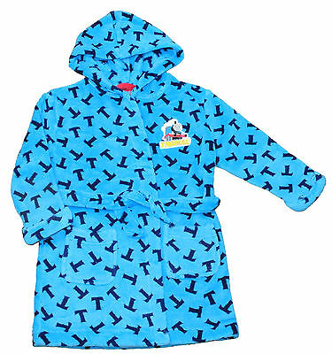 Thomas the Tank Engine Dressing Gown 2 to 6 Years Thomas the Tank Engine Blue