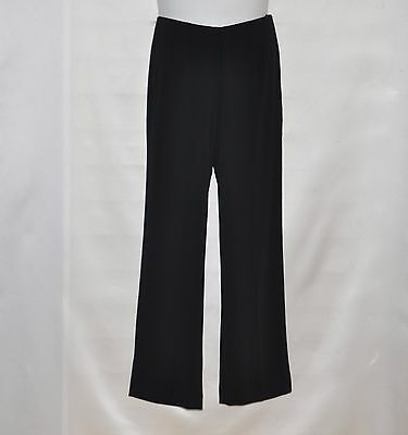 Bob Mackie Hollywood Waist Crepe Pants Size S Black