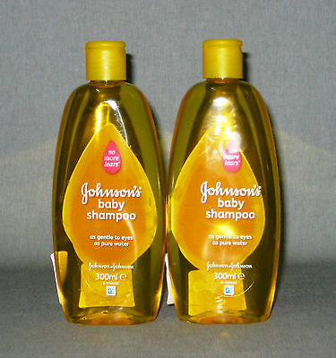 2 x JOHNSON`s - Baby Shampoo - mild - 600 ml