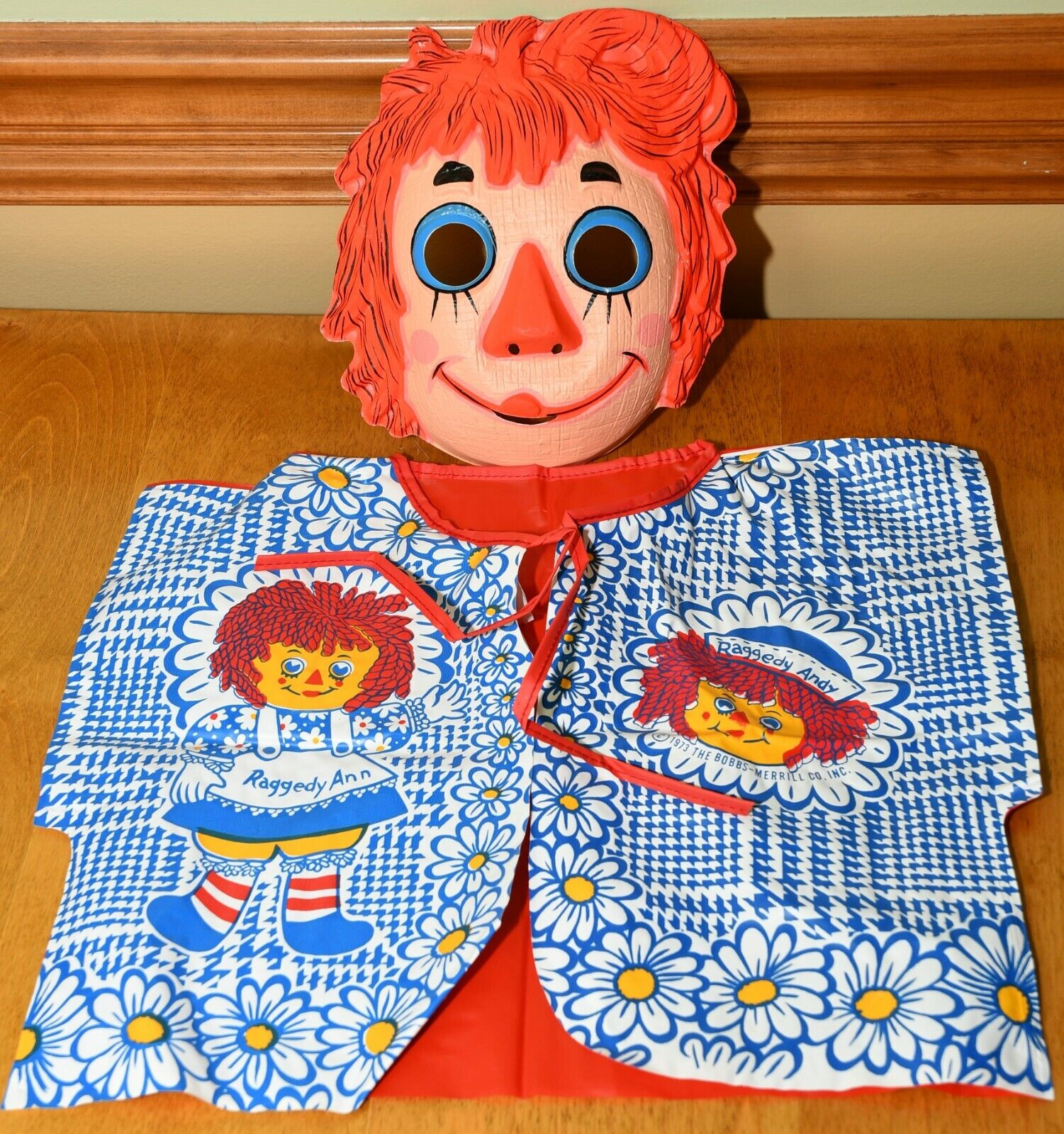 Ben Cooper Vintage Raggedy Ann Costume - Excellent Condition - 1970's