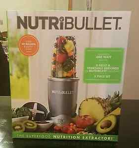 BRAND NEW NutriBullet 5 Piece Set 600 Watts (Never been opened) Hillbank Playford Area Preview