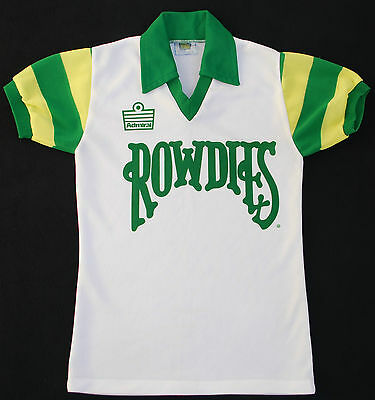 1980s TAMPA BAY ROWDIES ADMIRAL HOME FOOTBALL SHIRT (SIZE S) image