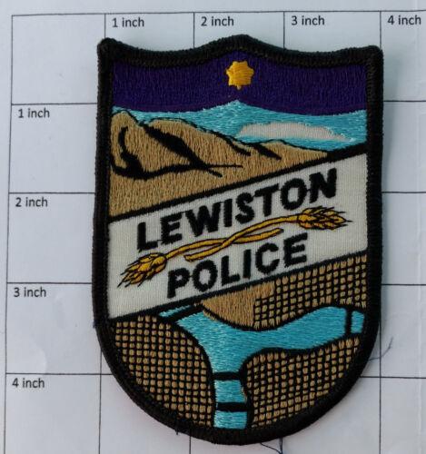 Lewiston Police (Idaho) patch