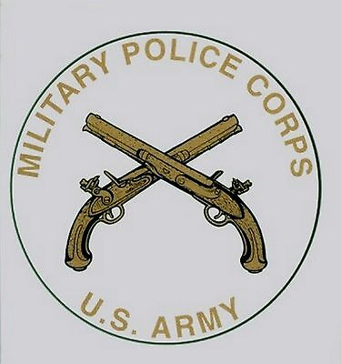 Army Military Police Corp Decal