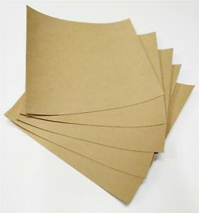 Gasket Paper - Oil & Water Resistant - 5x 0.8mm Thickness Sheets - 25Cm x 25Cm