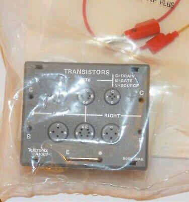 Tektronix A1007 500v Max Transistors Fets Fixture Adapter For 577 Curve Tracer