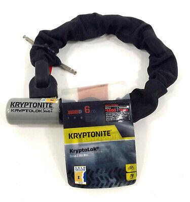 cbc67d9a9de699 Kryptonite 955 Mini KryptoLok Series 2 Chain Lock 1.8' 55cm