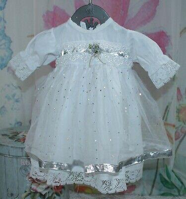 Baby Mädchen Kleid Taufe Größe 56 Festlich Hochzeit