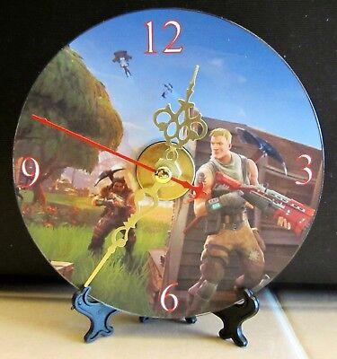 Brand New FORTNITE CD Clock Video Game Gamer