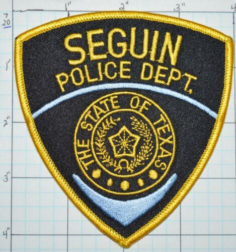 TEXAS, SEGUIN POLICE DEPT PATCH