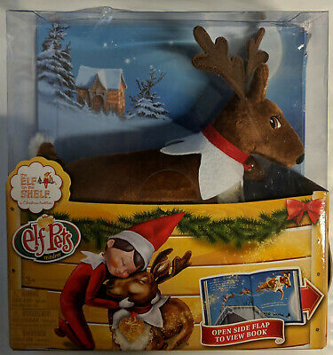 1x THE ELF ON THE SHELF ELF PETS REINDEER NEW ~DAMAGED - Elf On The