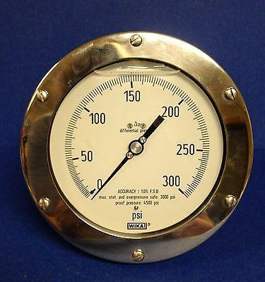 Wika 4.5 Membrane Type- High Working Pressure Gauge Pn 4375896 Type 732.25