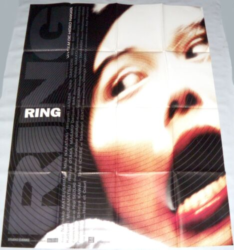 RiNG リング  Hideo Nakata 中田 秀夫 japan Horror  LARGE french POSTER