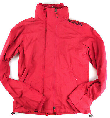 Men's Superdry Japan Original Technical Windcheater Medium M Bright Red EUC!