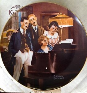 Bradford Exchange Norman Rockwell Collector Plates Strathcona County Edmonton Area image 7