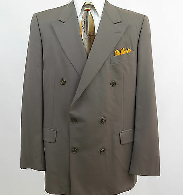 Gieves & Hawkes Savile Row London Men's Wool Blazer Jacket Sport Coat 44 L USA