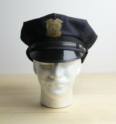 Vintage MINNEAPOLIS Minnesota MN Police Officers Uniform Hat Cap Size 7 1/4