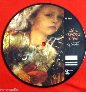 All-About-Eve-December-Rare-UK-7-Picture-Disc-Un-Numbered-Vinyl