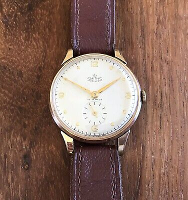 Smiths Deluxe A526 9ct Gold Austin Motors Presentation Watch