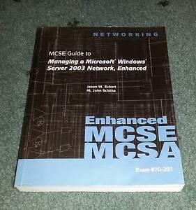 MCSE Guide To Microsoft + Managing Microsoft Server Ashfield Ashfield Area Preview