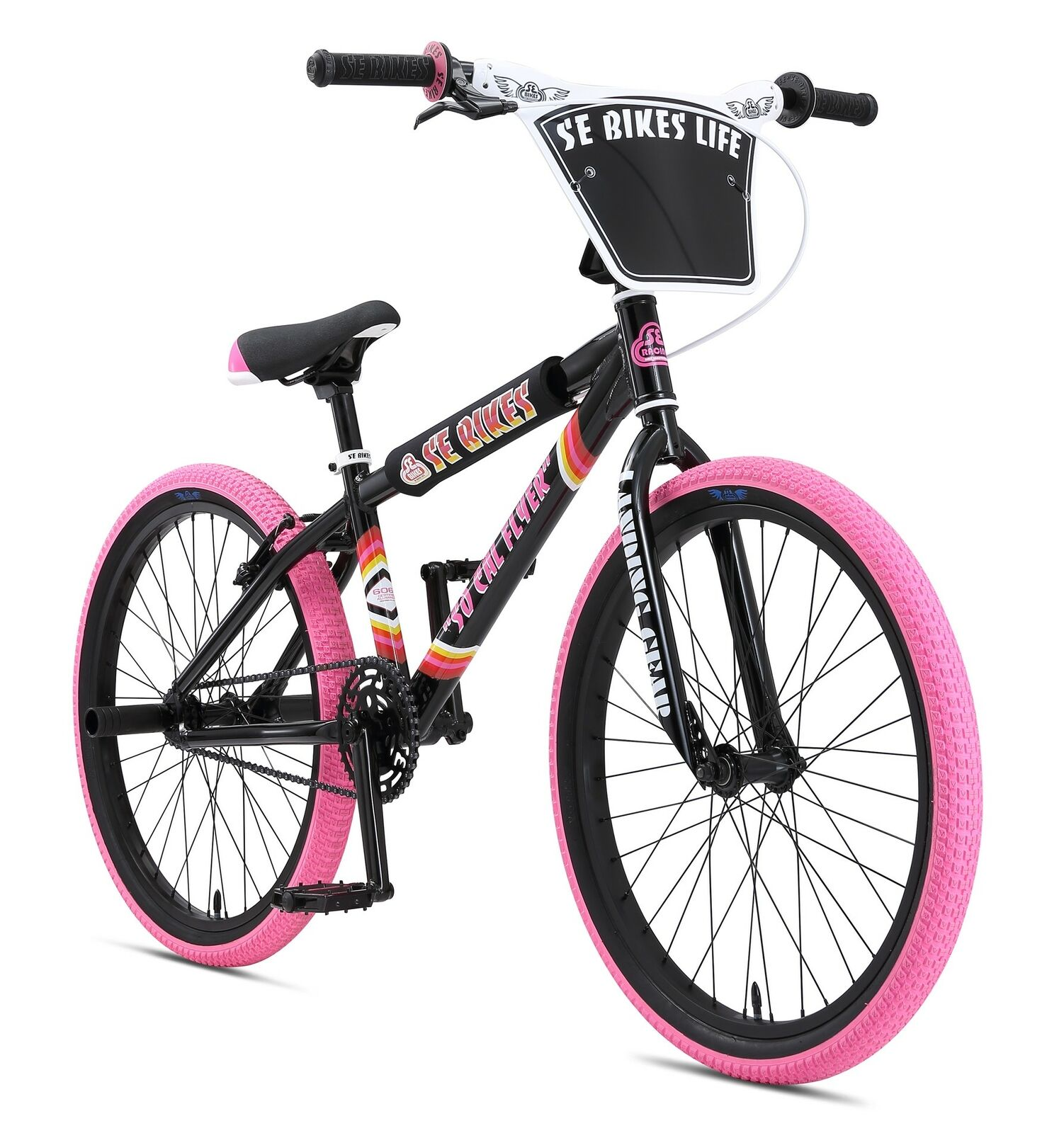 BMX Rad 24 Zoll SE Bikes So Cal Flyer Wheelie