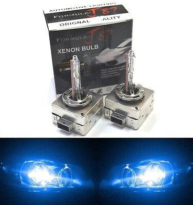 HID Xenon D1S Two Bulbs Head Light 10000K Blue Bi-Xenon Replacement Plug Play