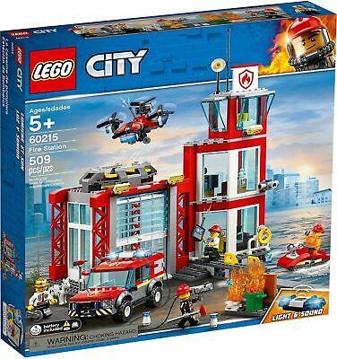 LEGO ® CITY 60215 - CASERMA DEI POMPIERI - 509 PEZZI - 5+ ANNI