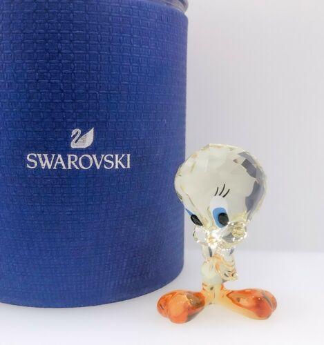 New SWAROVSKI 5465032 Looney Tunes Tweety Bird Figurine Display Collector