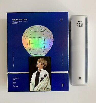 BTS The Wings Tour In Seoul DVD Live Trilogy Episode III TAEHYUNG V Photocard