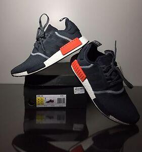 Adidas NMD R1 Grey Red 3M Sz10